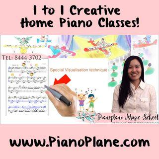 Piano Teacher Sparks Imagination and Confidence!