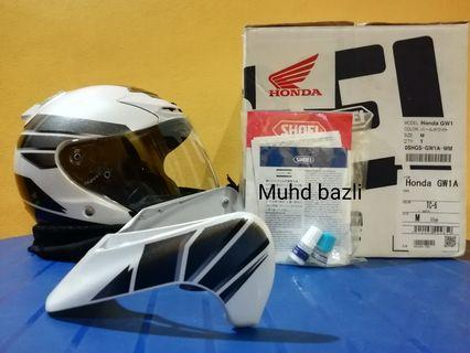 Shoei j force 2 honda golwing