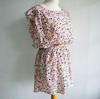 Vintage Dress - Polka