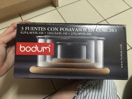 Bodum hotpot glass bowl set