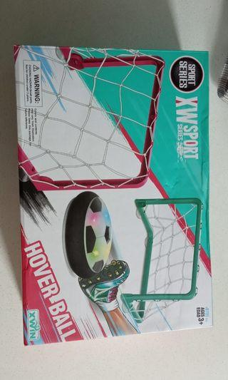 Hover ball floating football game set
