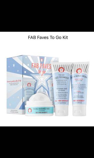 🚚 FAB First aid beauty 修復霜組合