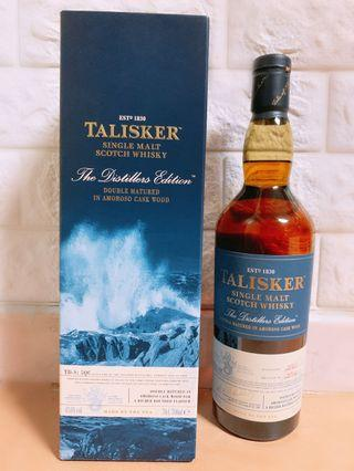 Talisker Double Matured Single Malt Scotch Whisky The Distillers Edition(Distilled 2003 : Bottled in 2014) - 泰斯卡雙桶單一純麥威士忌