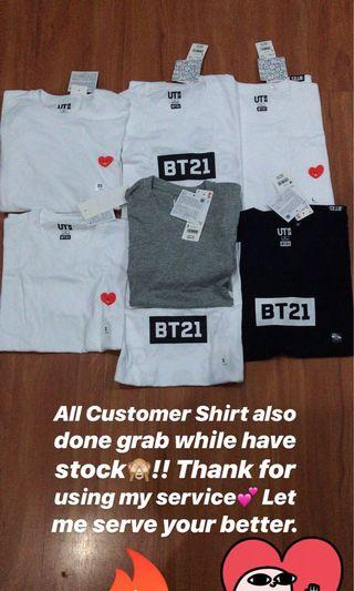 (Buying Service) Uniqlo X BT21 ( NFS )