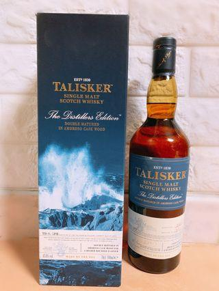 Talisker 2002-2013 Distillers Edition Double Matured Single Malt Scotch Whisky - 泰斯卡2002珍釀單一純麥威士忌