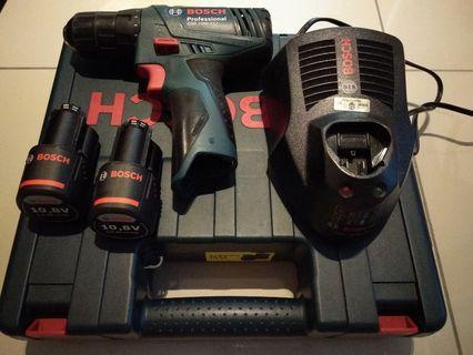 Bosch Drill/Screwdriver GSR 1080 2-Li Brand New Charger #MGAG101