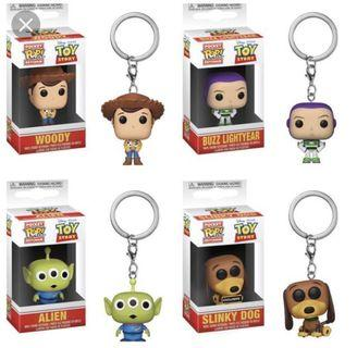 🚚 NEW ARRIVAL! Toy Story FUNKO POP keychains