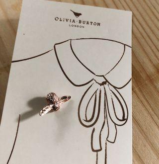 Olivia Burton 紅銅小蜜蜂別針 nude mercci