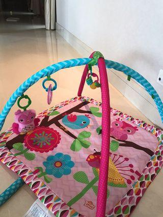 🚚 Baby play mat, blankets, fabric baby wrap, bath chair, burp cloths