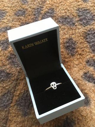 Karen walker skull ring