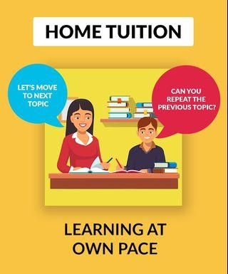Home Tuition (Primary school level to University level)