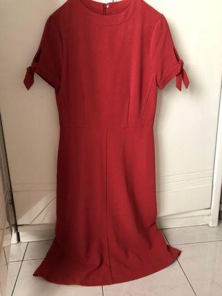 Marc&spencer maternity dress hamil