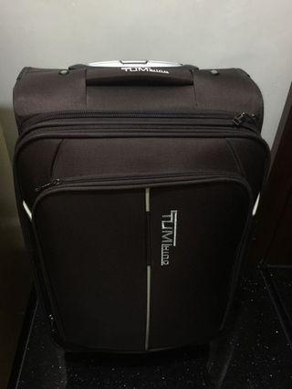 Luggage brown color (Tumi)