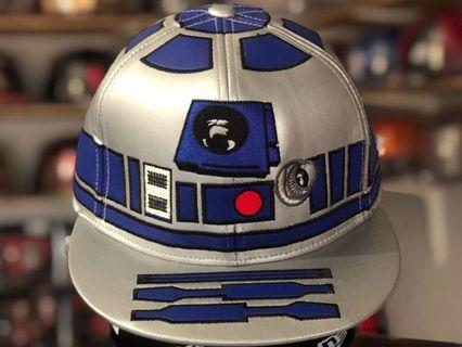 Disney 59fifty Big Face Star Wars R2D2 fitted cap / hat size 7 (55.8cm)