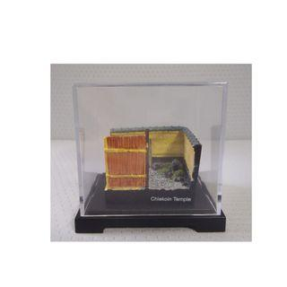 Japanese miniature diorama Cheikion Temple plastic case made in Japan