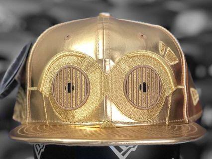 New Era 59fifty Star Wars c3p0 fitted cap size 7