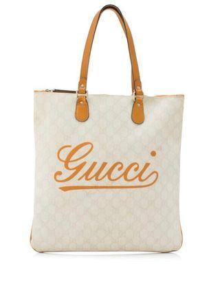[保證真品]Gucci 我就是古馳帆布托特包