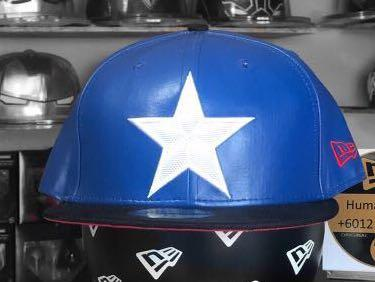 New Era 59fifty Marvel Captain America fitted cap size 7 7/8
