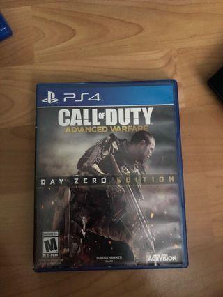 🚚 Call Of Duty Advanced Warfare PS4