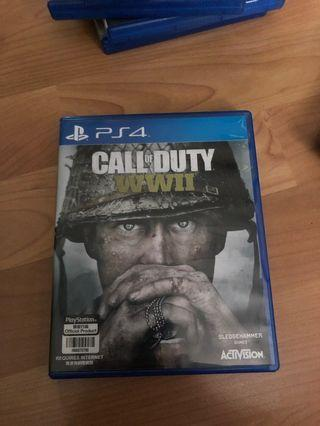 🚚 PS4 Call Of Duty WWII