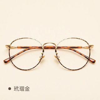 玳瑁金 平光眼鏡