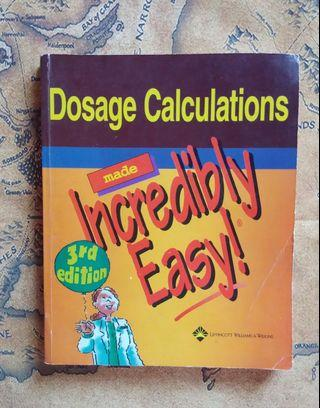 Dosage Calculations Made Easy 3rd Edition