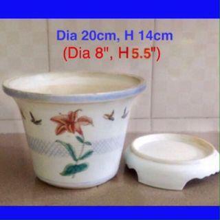 Beautiful Porcelain Flower Pot