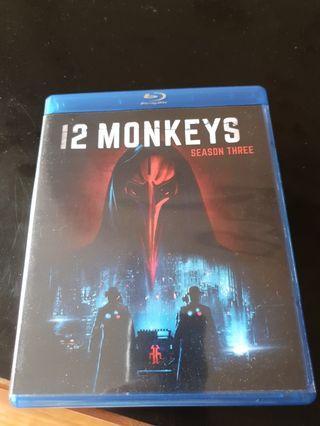 12 monkeys season 3 blu-ray series