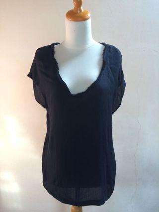 Zara atasan hitam