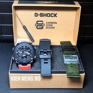 🔥🔥🔥Brand new and 💯% authentic Casio G-Shock GA-2000E-4ADR , GA2000 , GA-2000 , GA2000E , GA-2000E , GA2000E4 , GA-2000E-4 , GA2000E4ADR , Casio , gshock , G-Shock