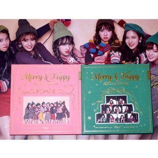 (WTB) TWICE ALBUM MERRY AND HAPPY GREEN VERSION