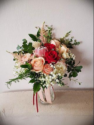 Bridal Bouquet : Fresh Flowers