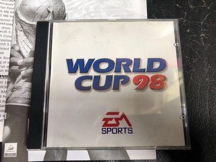 World Cup 98 PC Game 電腦遊戲