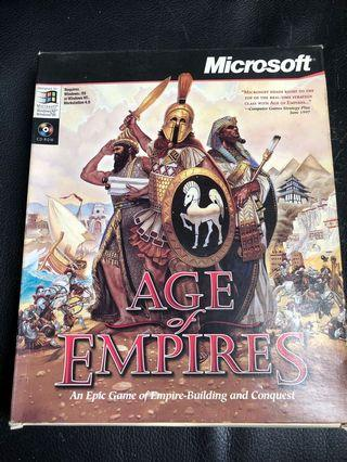 Age of Empires PC Game 電腦遊戲