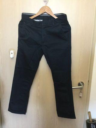 Men's dark blue pants