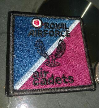 皇家空軍air cadet布章一個