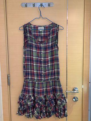 Ralph Lauren Checkered Casual / Beach Dress