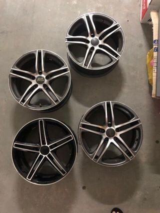 17 inches rims for sale