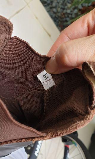 🚚 Rich brown children's leather winter boots