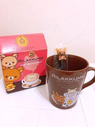 🚚 拉拉熊甜蜜巧克力咖啡馬克杯