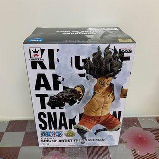 日版四檔路飛模型 King of Artist The Snakeman Figure one piece 海賊王