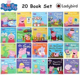 Ladybird Peppa Pig 20 Books Collection Set Book