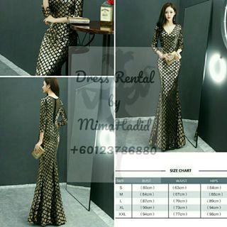 RENTAL • Sequin Dress