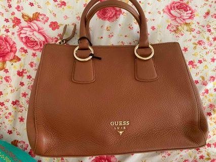 GENUINE GUESS LEATHER BAG