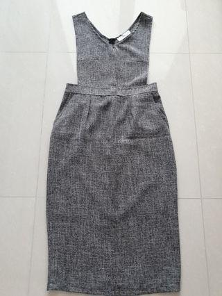 Love & Bravery Pinafore Dress