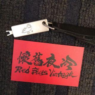 停產 原裝 Mandarina Duck 太空袋 皮繩連 鎖匙 一條 只收現金。