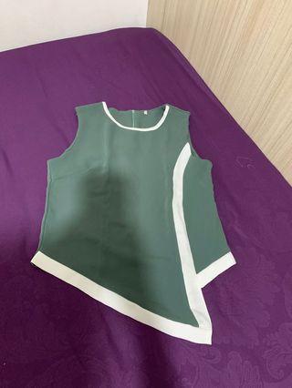 Shirt asimetris