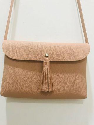 Matt Pink Sling Bag