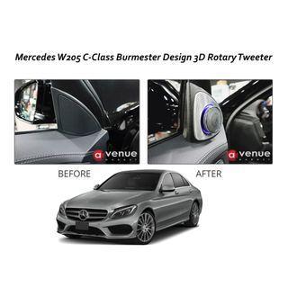Burmester Design 3D Rotating Tweeter with Ambient Light  For W213 E Class, W205 C Class, X253 GLC class, W222 S Class