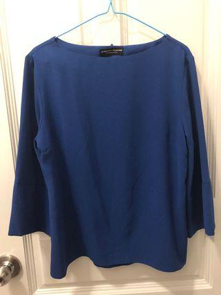 Dorothy Perkins Navy Blue Top